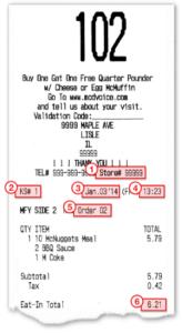 mcdvoice survey code receipt