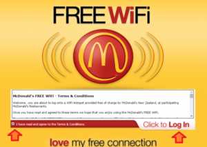 Mcdonalds Wifi login - Mcdonalds free Wifi - Mcdonalds Wifi Connect